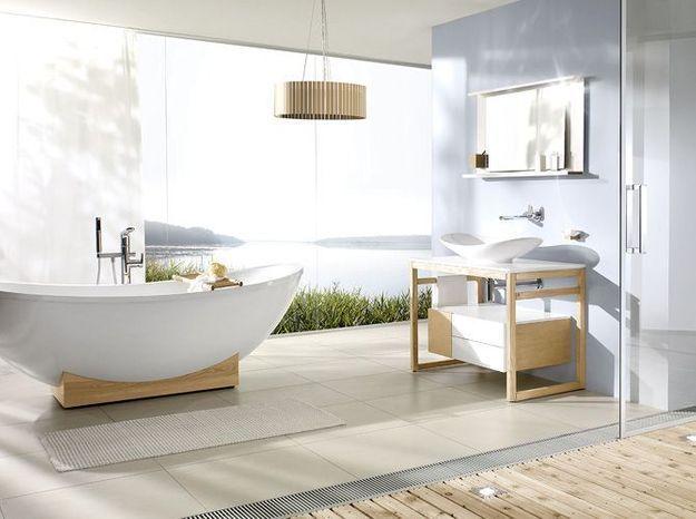 Salle de bain zen et scandinave