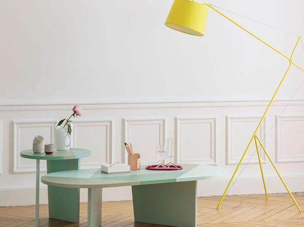 Des objets déco graphiques pour décorer ses tables basses