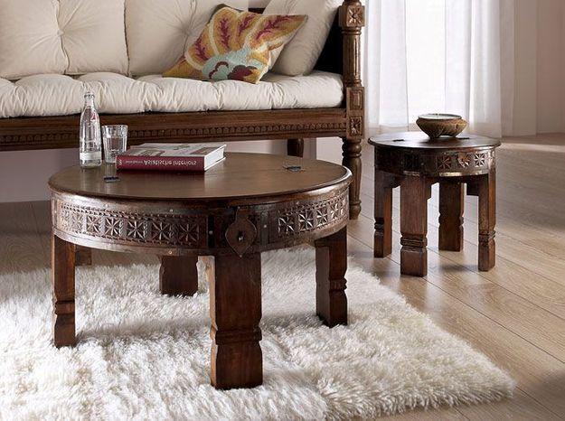 Deco orientale table basse Helline
