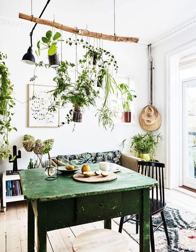 Ambiance DIY dans ce salon vintage