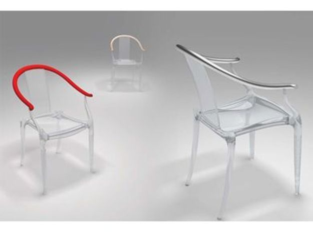 fauteuil mi ming par philippe starck xo design elle d coration. Black Bedroom Furniture Sets. Home Design Ideas