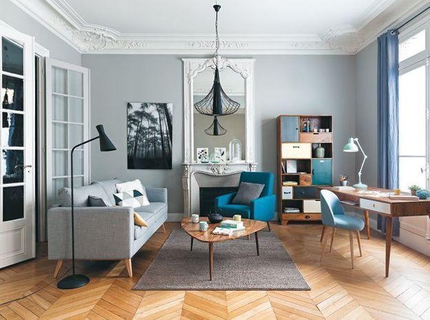 Jouer le total look vintage dans un intérieur classique