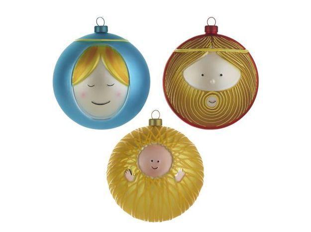 Boule de Noël décalée