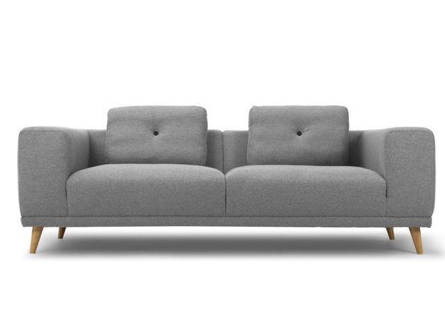 Un canapé design aux courbes accueillantes
