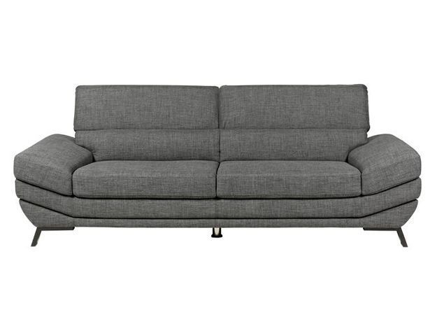 Un canapé design gris