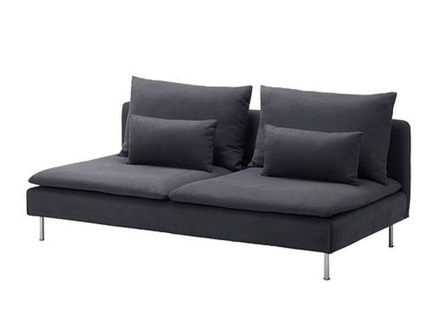 Un canapé design sans accoudoirs