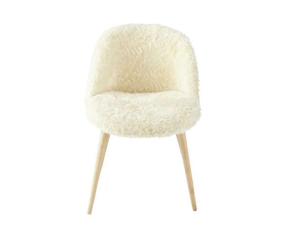 Une chaise cocooning