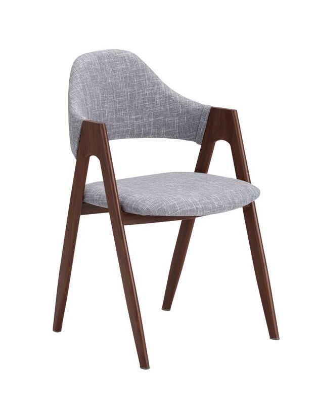Chaise design pas chère bi-matières