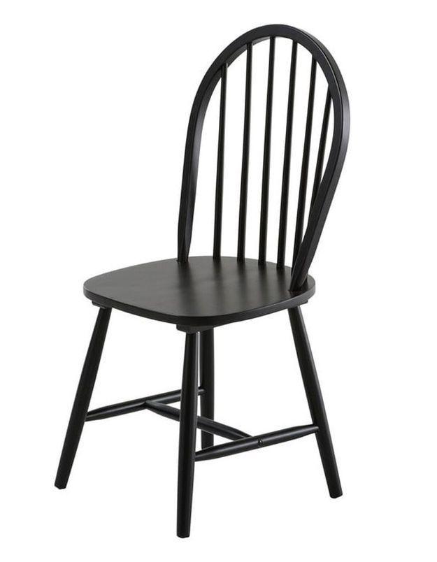 Chaise design pas chère noire