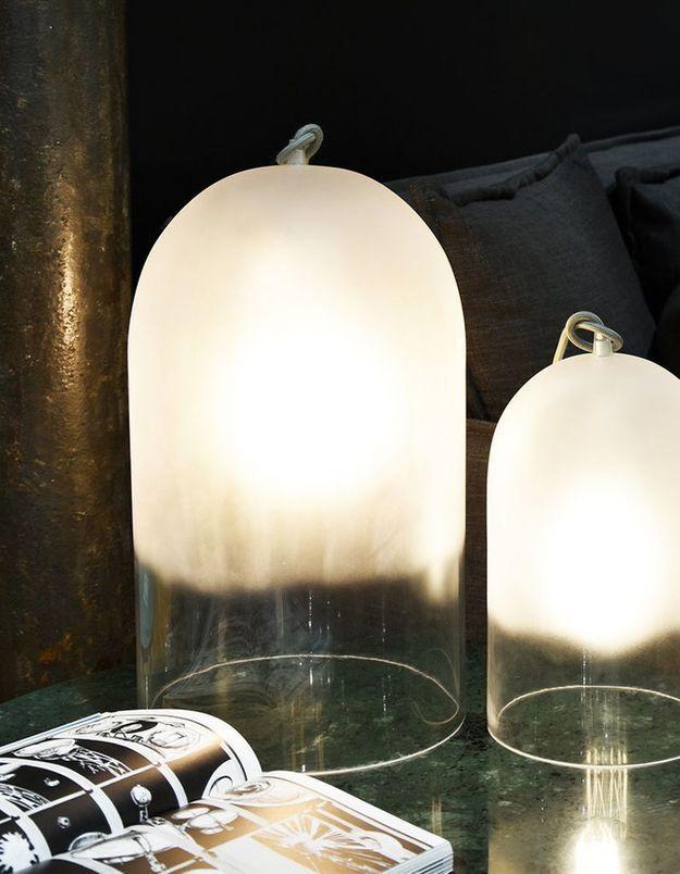 Une lampe à poser délicate pour une déco douillette