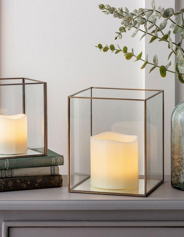Une lanterne minimaliste pour une déco douillette