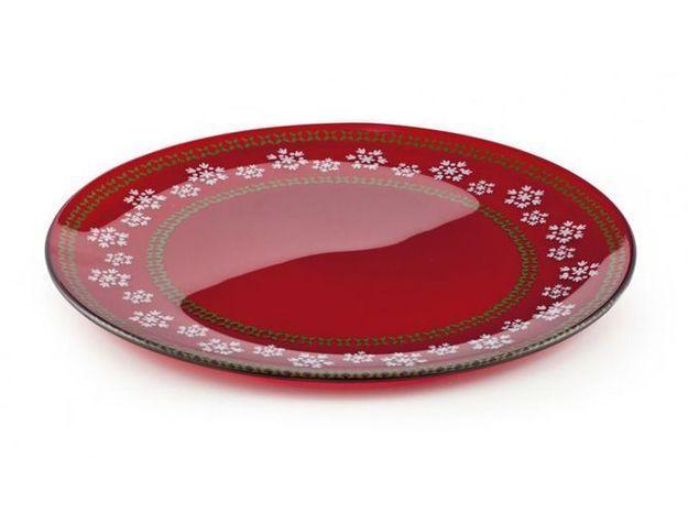 Assiette rouge venezie