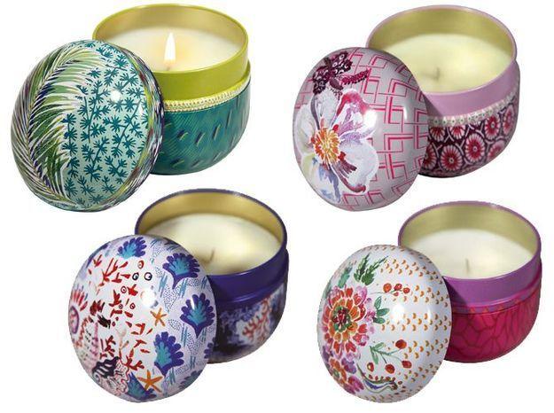 De jolies bougies parfumées aux odeurs raffinées