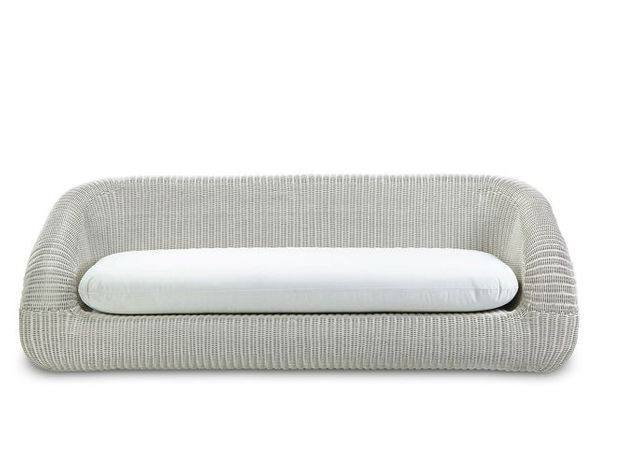 Un sofa aux lignes arrondies pour s'installer confortablement
