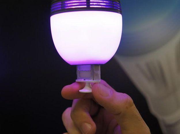 Une ampoule pour moduler l'intensité de l'éclairage