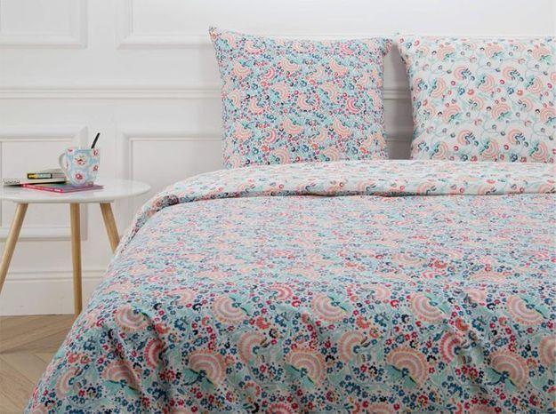 Une jolie parure de lit pour se sentir bien au moment du coucher