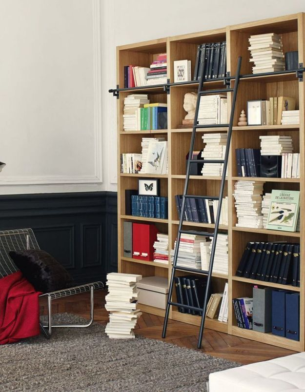 Biblioth ques belles et pratiques notre s lection pour la rentr e elle d coration - Bibliotheque meuble habitat ...