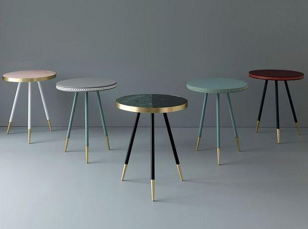 L'inspiration déco du jour : les tables Bethan Gray