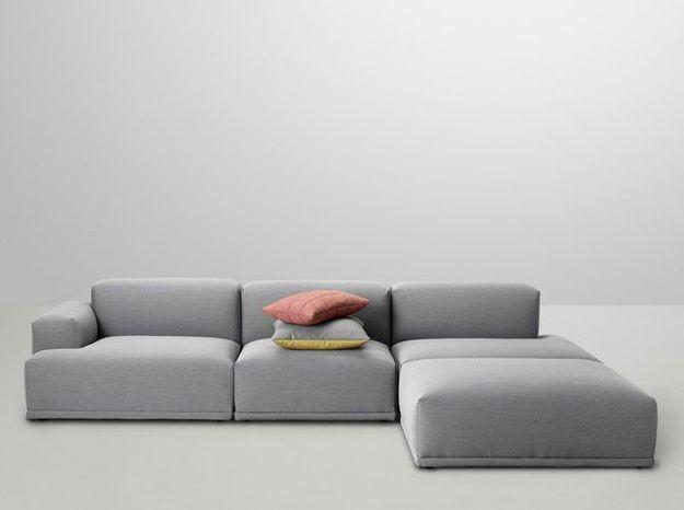 Un canapé modulable contemporain