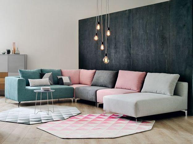 Un canapé modulable d'angle