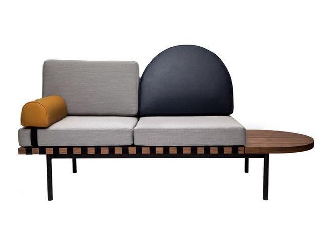 Un canapé modulable graphique