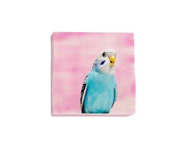 Des serviettes ultra colorées pour un pique-nique