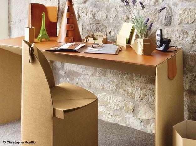 pourquoi les meubles en carton cartonnent