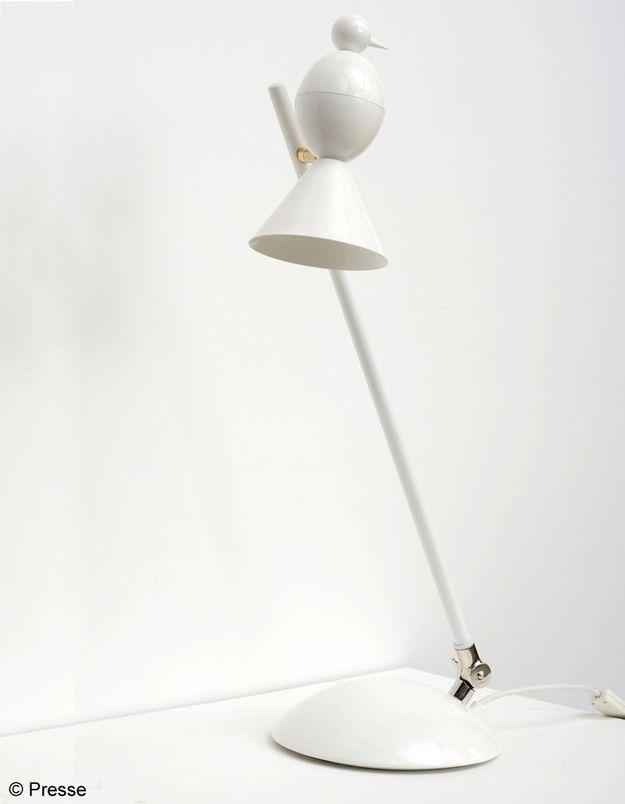 Lampe en acier laqué époxy Atelier Areti