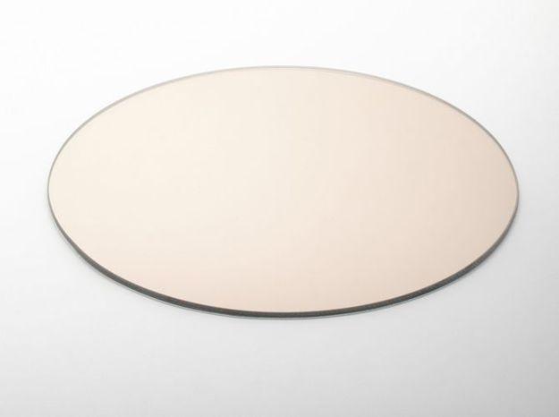 Un miroir dessous de plat