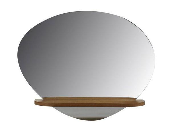 Un miroir étagère