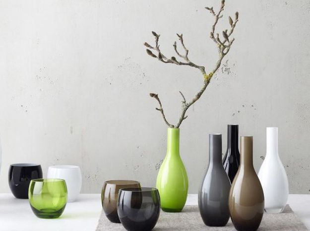 Vase verre leonardo