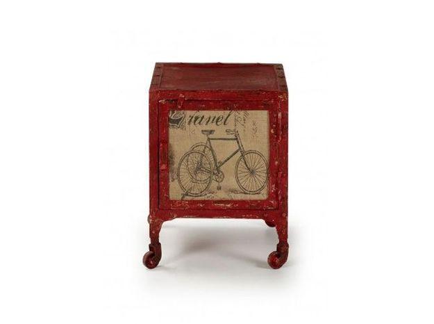 Table rouge gain de place