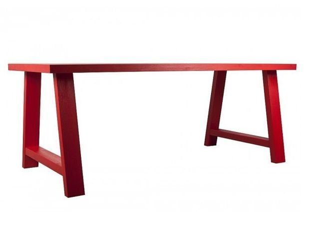 Table rouge la redoute