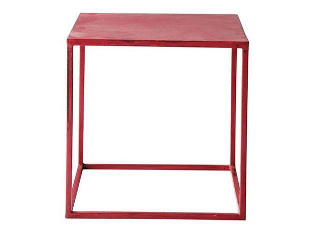 Table rouge maisons du monde 2