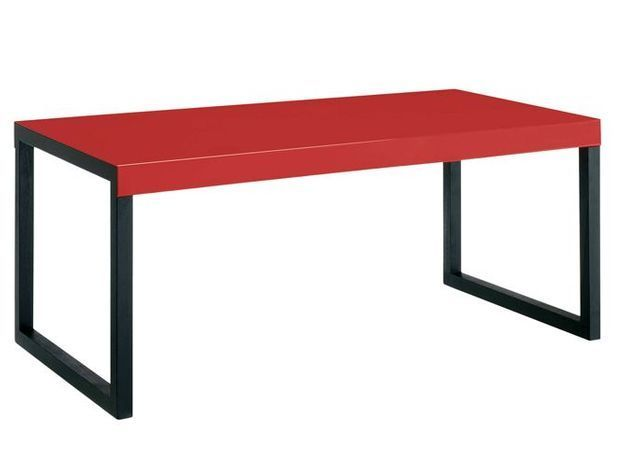 Table rouge habitat