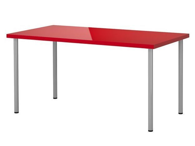 Table rouge ikea