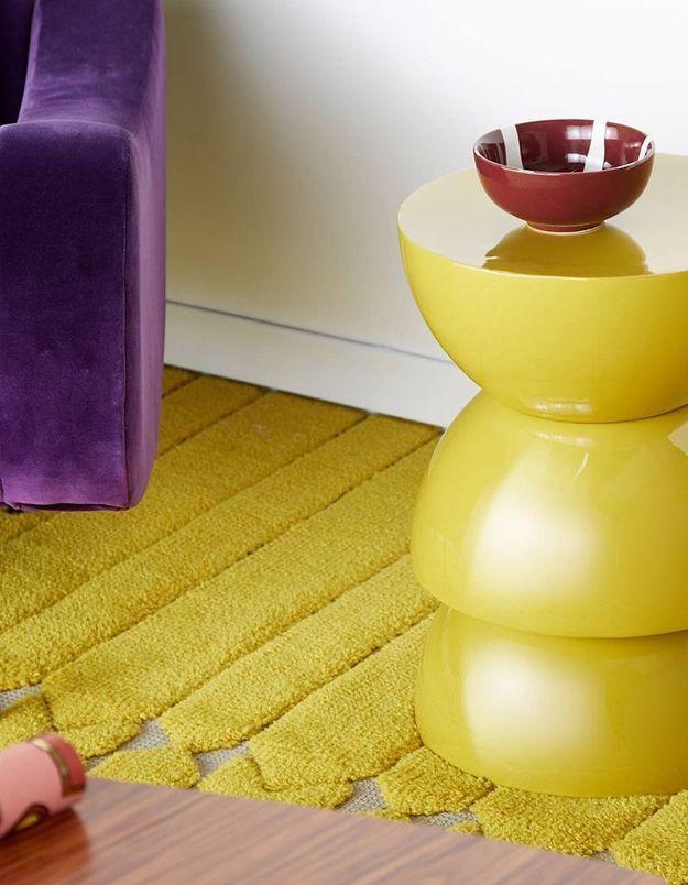 Tabouret design India Mahdavi pour Monoprix