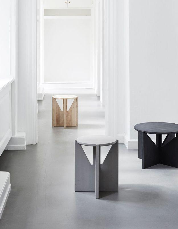 Tabouret design Kristina Dam