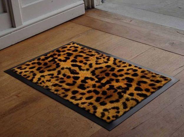 Paillasson Panthere Imprime Animal