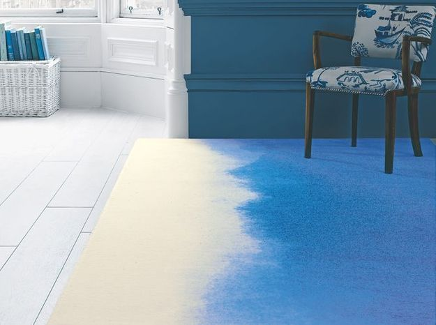 Tapis tie and dye