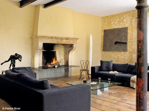 nos 50 plus belles chemin es elle d coration. Black Bedroom Furniture Sets. Home Design Ideas