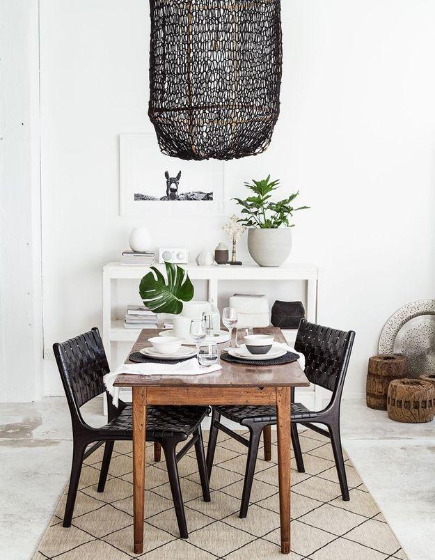 Une salle à manger dépaysante