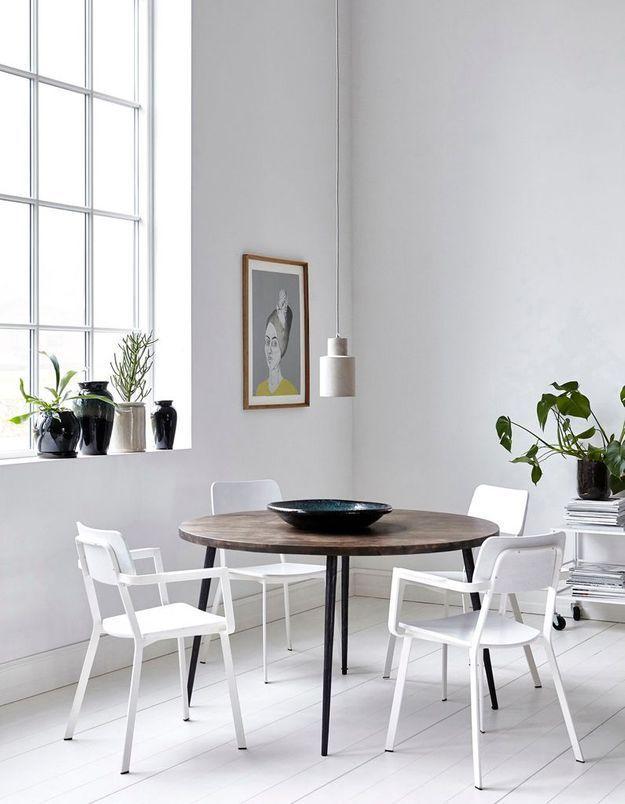 Une salle à manger immaculée