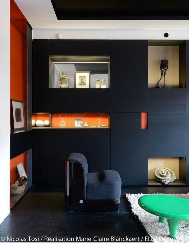 Salon noir