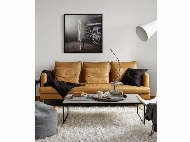 Un salon chaleureux aux couleurs neutres