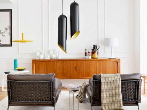 Un salon vintage design
