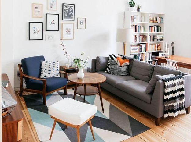 Un salon vintage et cosy
