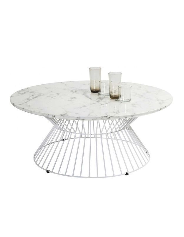 Table basse en marbre Kare Design