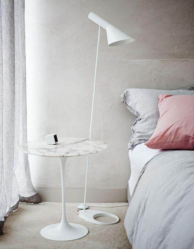 La table Tulipe version table de chevet