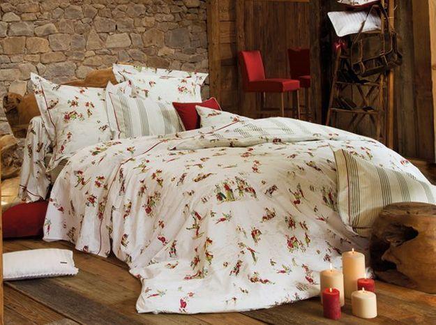 Parure de lit chalet